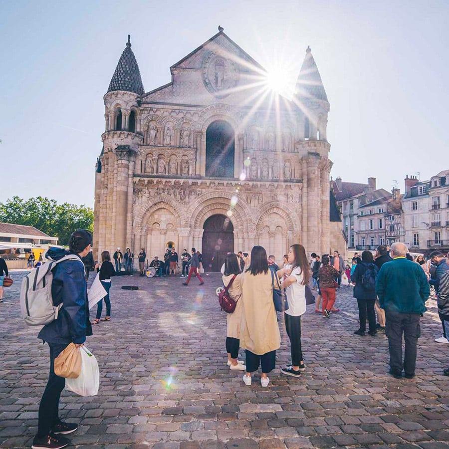 Eglise Notre-Dame-la-Grande Poitiers Grand Poitiers