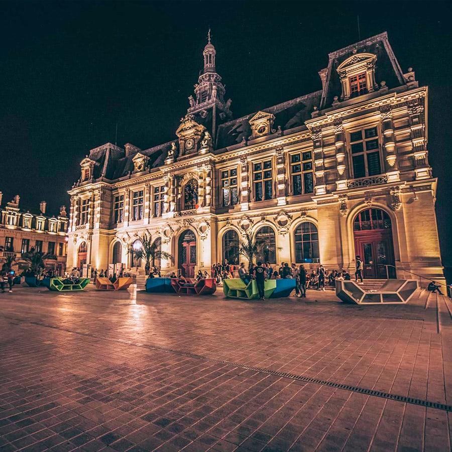Poitiers la nuit Grand Poitiers