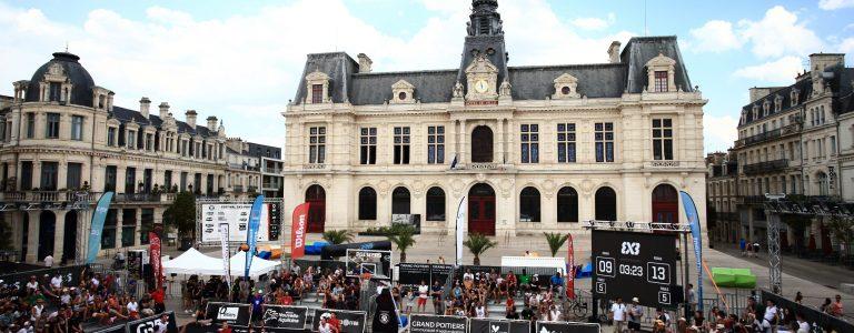 Festival international 3x3 Poitiers basket Office de Tourisme de Grand Poitiers VisitPoitiers