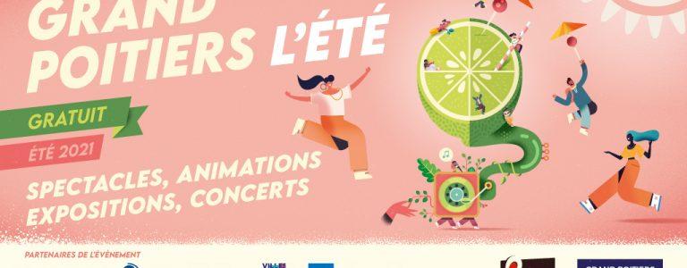 Animations Grand Poitiers l'Ete Office de Tourisme Grand Poitiers VisitPoitiers