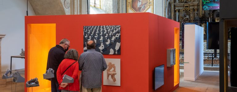 Exposition art Miroir à la Chapelle Saint-Louis centre-ville Poitiers Office de Tourisme Grand Poitiers VisitPoitiers