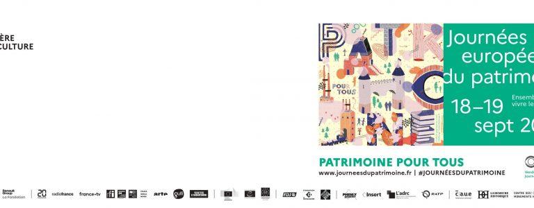 Journées du Patrimoine 2021 Grand Poitiers Office de Tourisme de Grand Poitiers VisitPoitiers